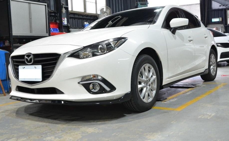 Dokładka zderzaka przedniego Mazda 3 4/5D 14- MZ Style - GRUBYGARAGE - Sklep Tuningowy